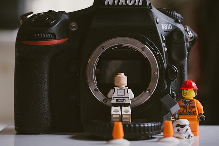 Nikon's F mount for DSLRs cameras