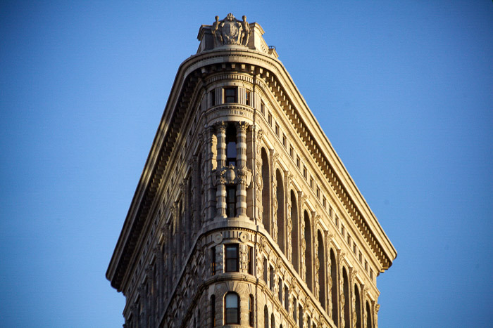 The Gridiron building in New York - best places to take pictures in nyc