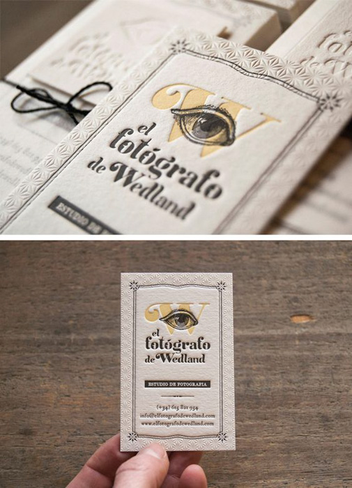 El Fotógrafo de Wedland photography business cards ideas