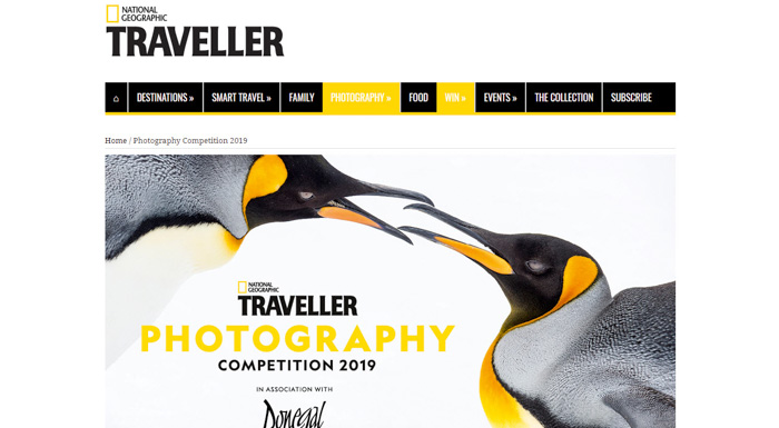 National Geographic Traveller Photography Competition - best photography contests