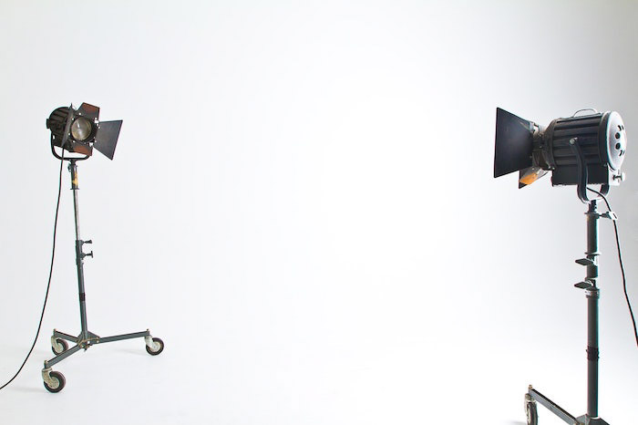 A photography studio lighting setup - photography internships