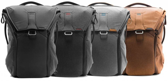 the Peak Design Everyday Back Pack range