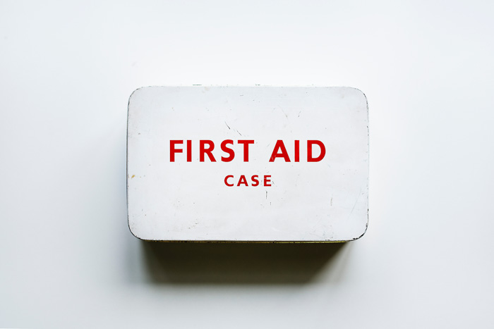 the waterproof Surviveware Small First Aid Kit
