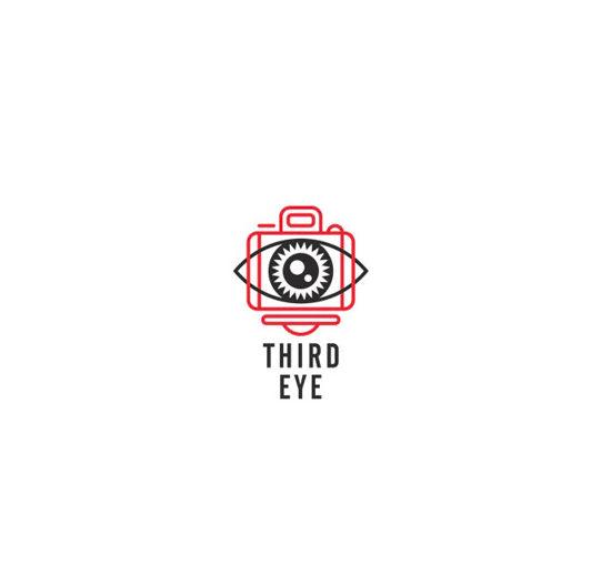 The Third Eye photography logo bymr.giraffe.design