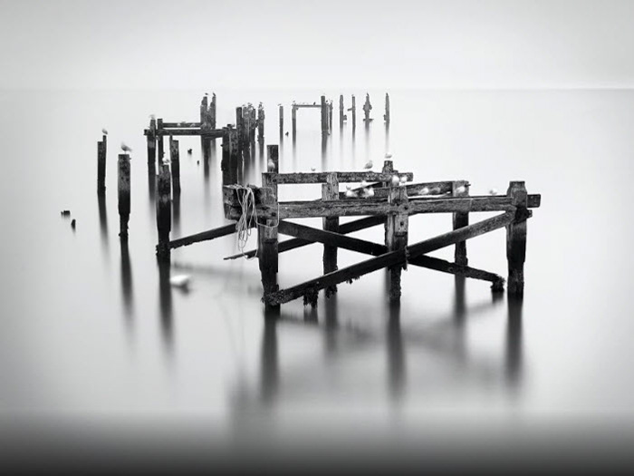 Swanage - ByPaweł Prus, black and white fine art photography examples