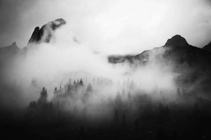 Mountain Fog - by Fabian Irsara, fine art photography examples
