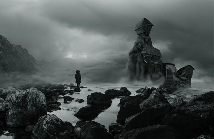 Alone in a strange place - byMartin Smolak, fine art photography