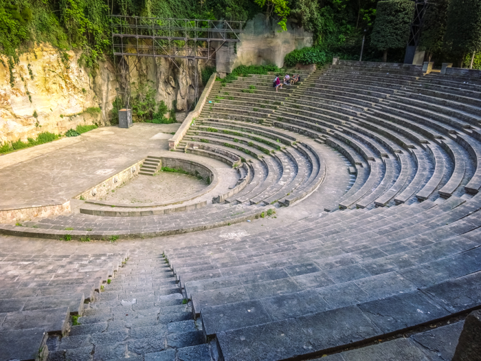 The Greek Theater in Montjuïc - best barcelona pictures