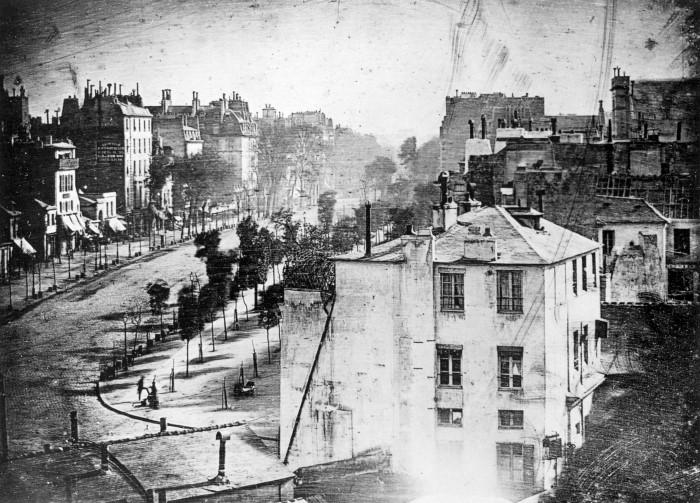 Boulevard du Temple by Daguerre