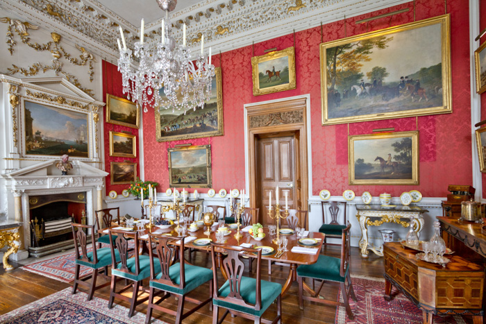 A lavish interior of a dining room - copyright in architecture photography
