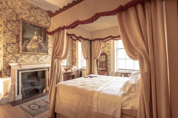 A lavish interior of a bedroom - copyright in architecture photography