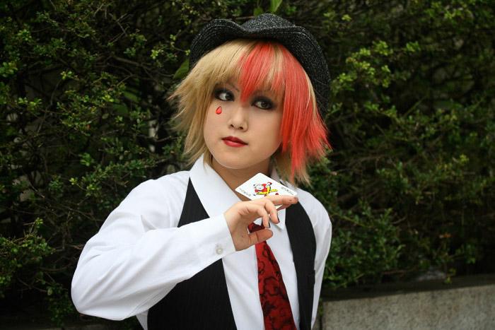 A cosplayer in Harajuku - photos of tokyo japan
