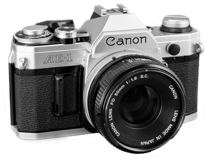 The Canon AE-1