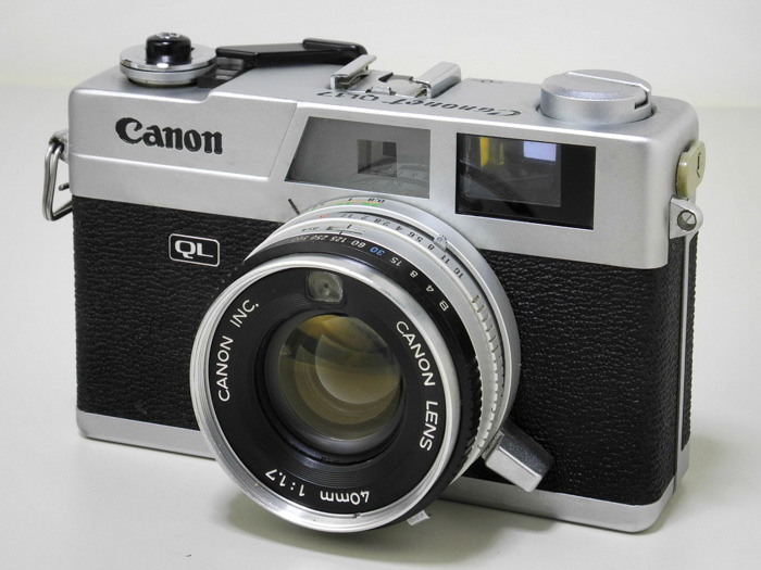 The Canon Canonet GIII QL17