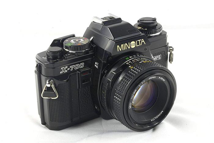 The Minolta X-700 - best 35mm film camera