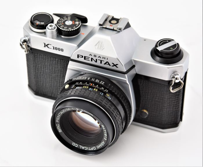 The Pentax K1000 35mm camera