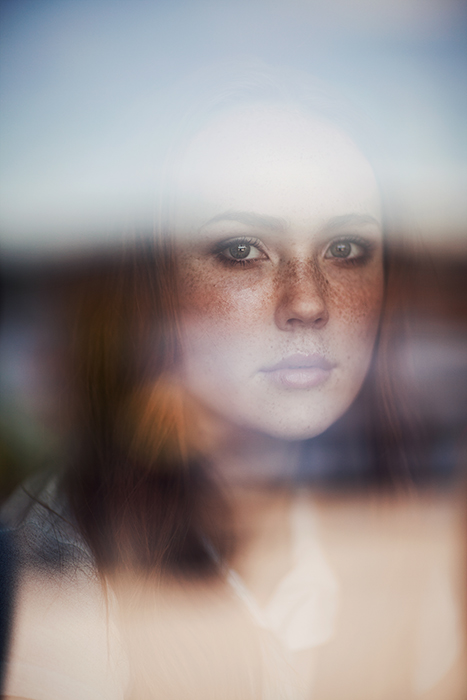 Ethereal portrait of a female model by fine art photographer Ruby James