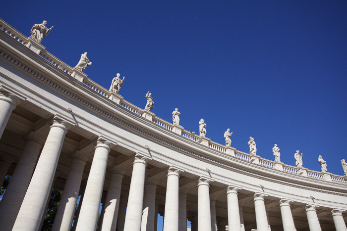 St Peter's square in the Vatican - Rome photography locations