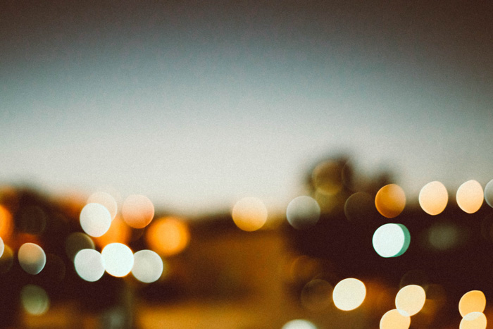 A blurry landscape photo with bokeh lights - what is spherical aberration