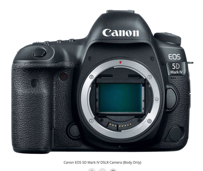 Canon 5D Mark IV - best camera for real estate photography