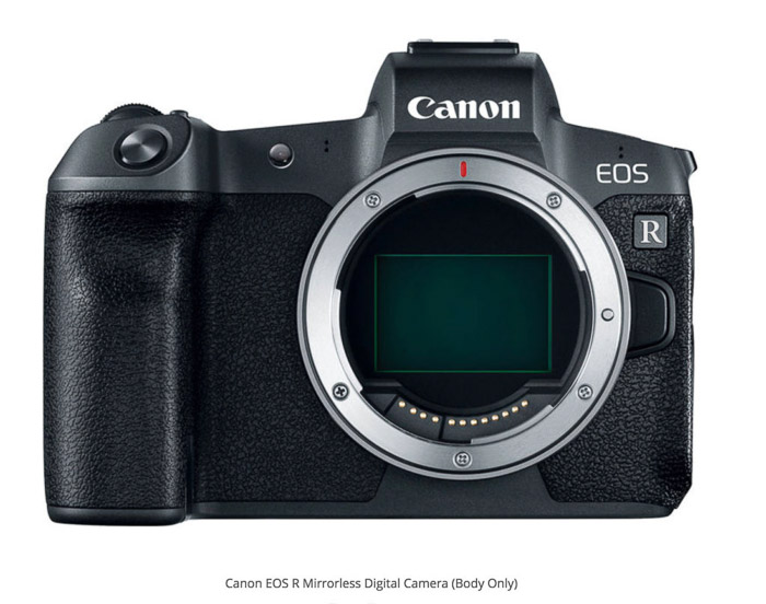 Canon EOS R best camera for real estate photos