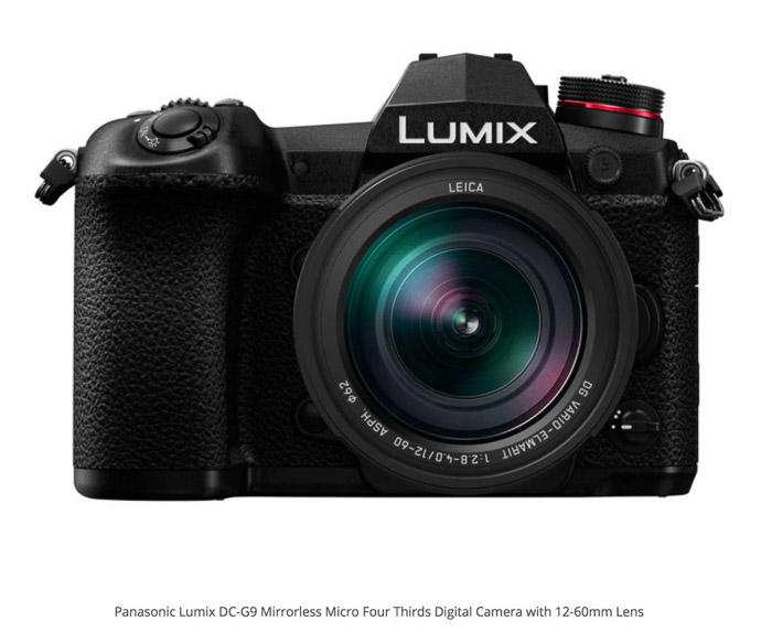 Panasonic Lumix G9 camera for real estate photography