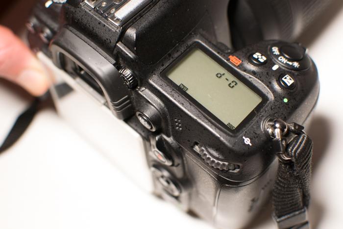 Setting white balance on a Nikon camera