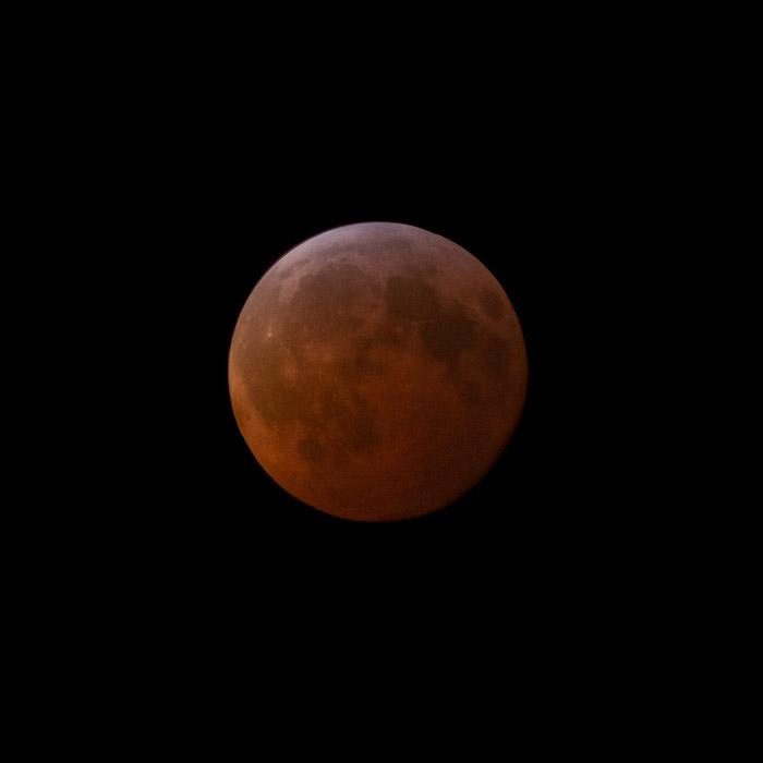 A lua de sangue