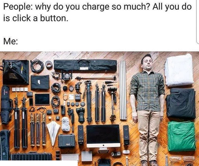 best photography meme - camera gear photography jokes