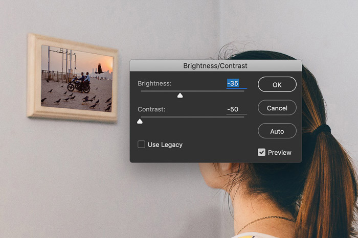How to Use Photoshop Smart Object - brightness