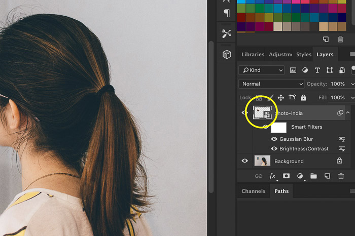 How to Use Photoshop Smart Objects - open smart object