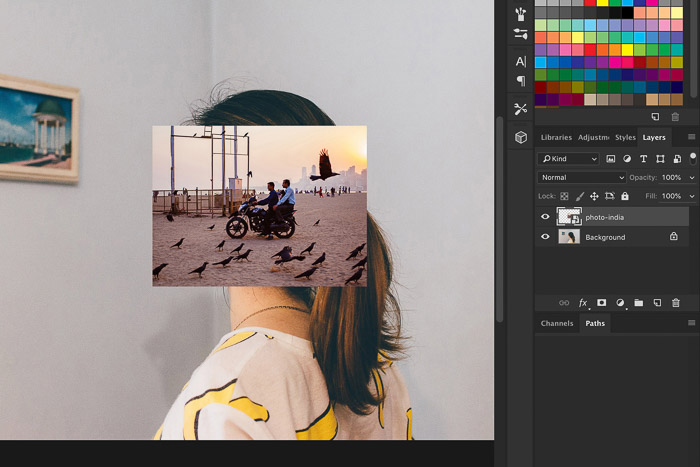 How to Use Photoshop Smart Objects - drag and drop