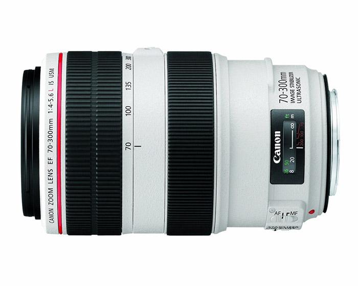 Canon EF 70-300mm f/4.5-f/5.6L telephoto lens