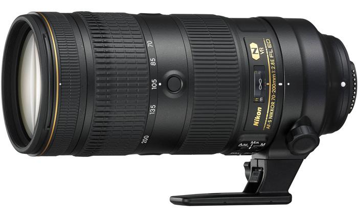 Nikon AF-S 70-200 mm f/2.8E FL ED VR nikon telephoto lens
