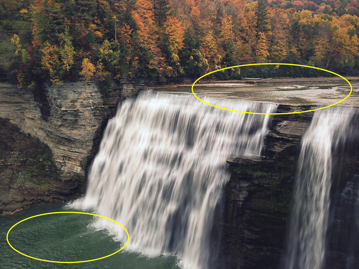 How to add waterfall effect in Photoshop - waterfall photography