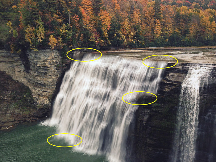 How to add waterfall effect in Photoshop - Add a Layer Mask