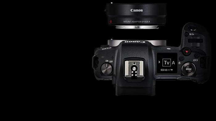 A sid eview of the canon eos r mirrorless camera