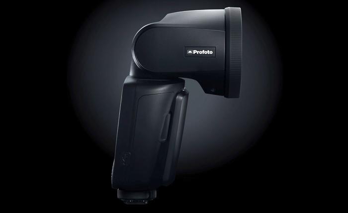 The Profoto A1 external flash