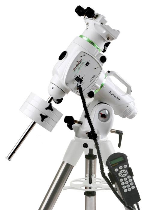 The Skywatcher EQ6-R PRO mount, a high end equatorial mount.