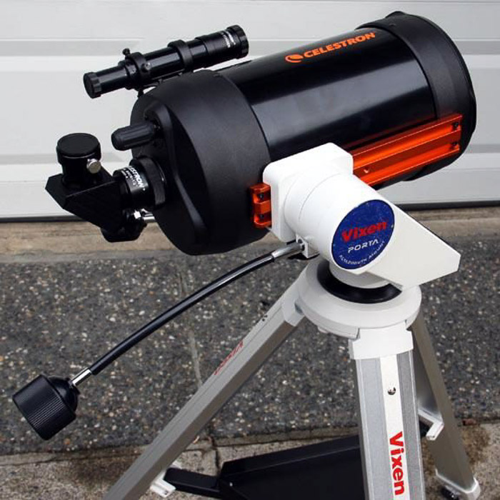 A typical visual setup based on Alt/Az mount. best telescope mounts for astrophotography