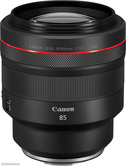 Canon RF 85mm F/1.2 L USM (and the DS Version)