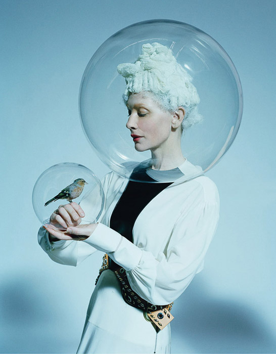 photo of Cate Blanchett by high fashion photographer Tim Walker