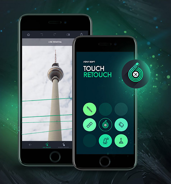 Touch Retouch app screenshot - best iphone photo editing apps