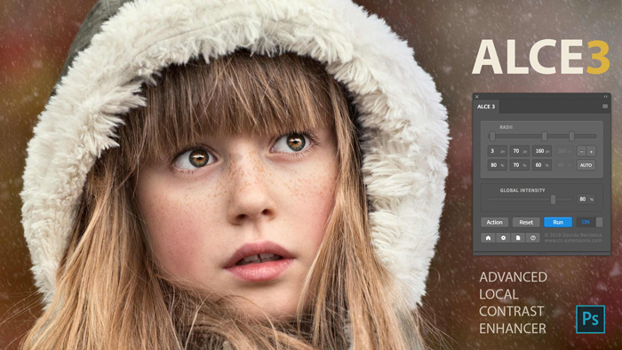 screenshot of ALCE3 interface - Best Photoshop Plugins
