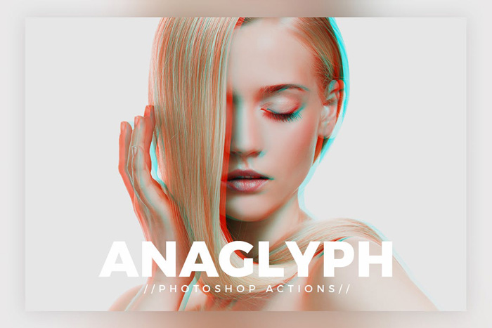 screenshot of Anaglyph - Best Photoshop Filters