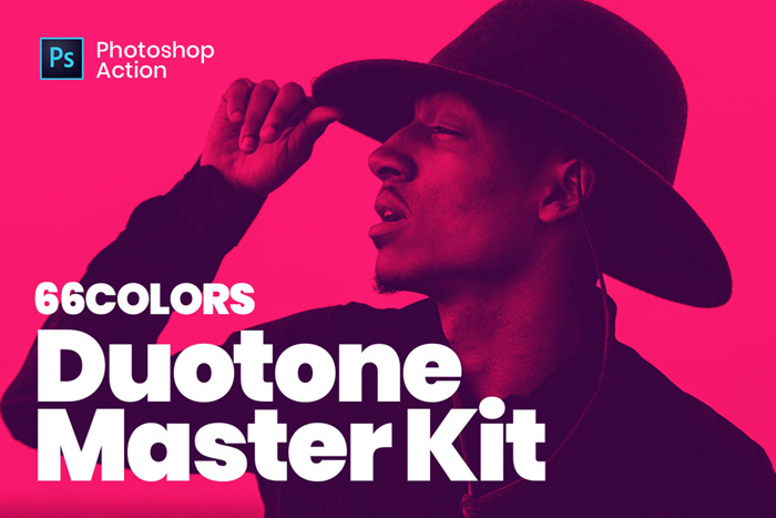 screenshot of 66 Colors Duotone Master Kit - Best Photoshop Filters