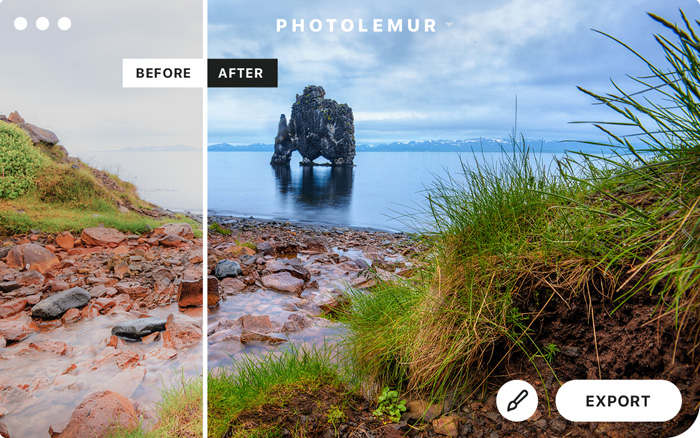 screenshot of Photolemur interface - Best Photoshop Plugins