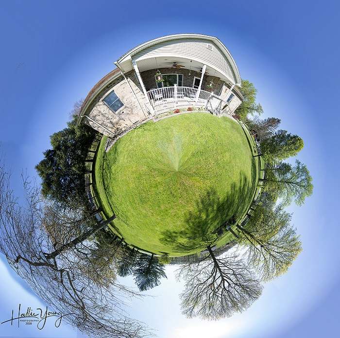 Tiny Planet photography