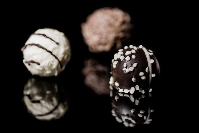 Chocolate photography