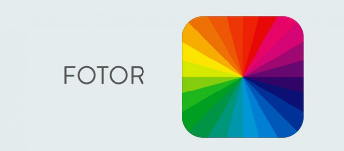 A screenshot from the Fotor photo retouch app interface